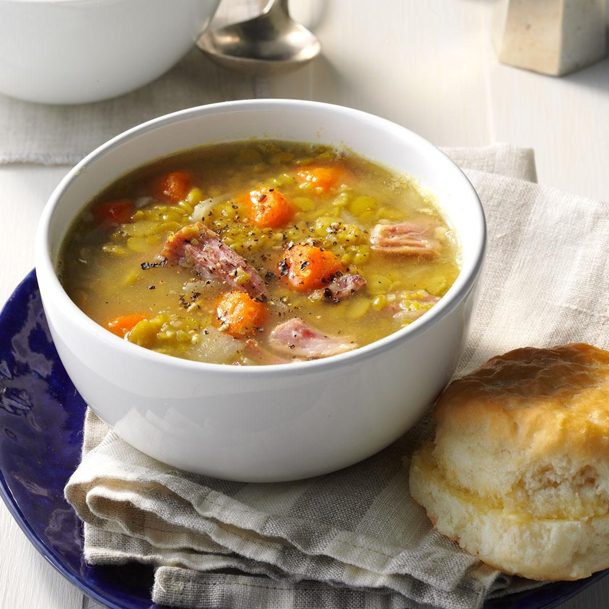 Day 2 Lunch: Split Pea Soup with Ham & Jalapeno