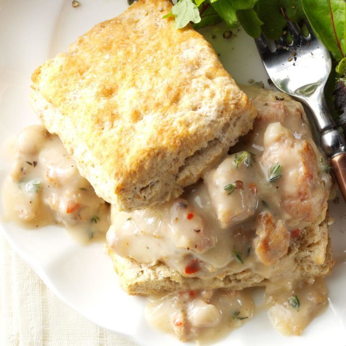Makeover Biscuits & Gravy