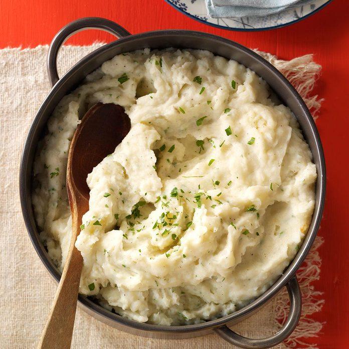 Nanny's Parmesan Mashed Potatoes