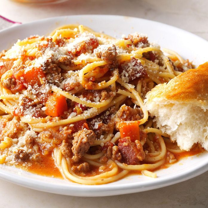 Inspired by: Bolognese Spaghetti