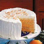 Hawaiian Sunset Cake