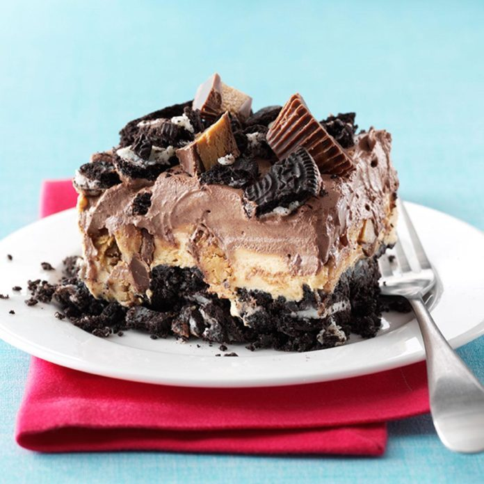 Ohio: Peanut Butter Chocolate Dessert