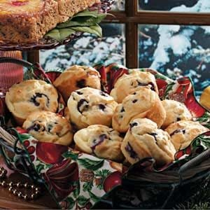 Blueberry Cream-Filled Muffins
