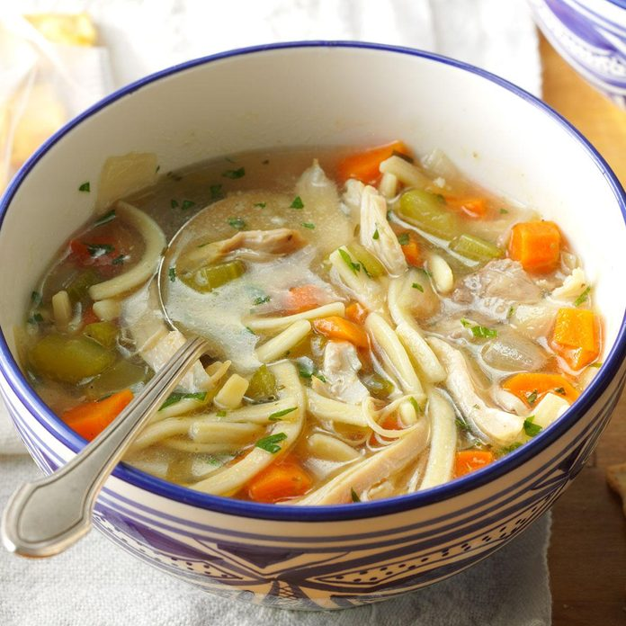 Inspired by: Rotisserie Chicken Soup