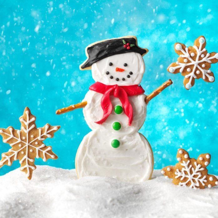 Super Snowman Cookies