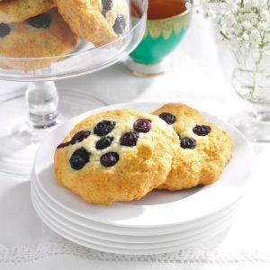 Buttermilk Blueberry Scookies