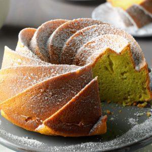 Easy Pistachio Bundt Cake