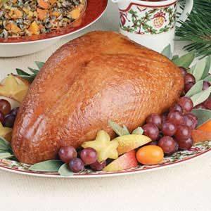 Turkey Breast with Apricot Glaze