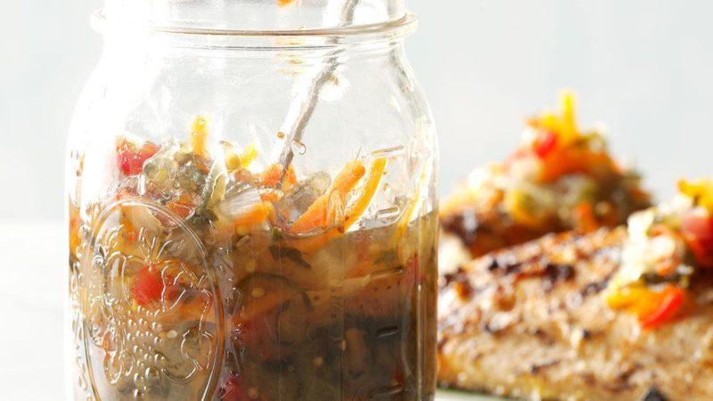 jar of End of Garden Relish