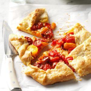 Heirloom Tomato Galette with Pecorino