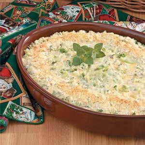 Makeover Creamy Broccoli Casserole
