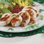 Spinach-Stuffed Chicken Rolls