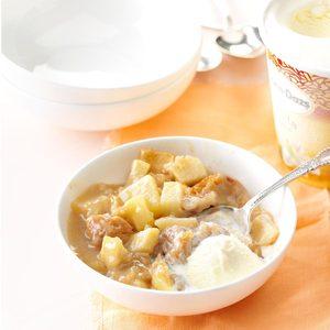 Grandma Davidson's Baked Apple Pudding