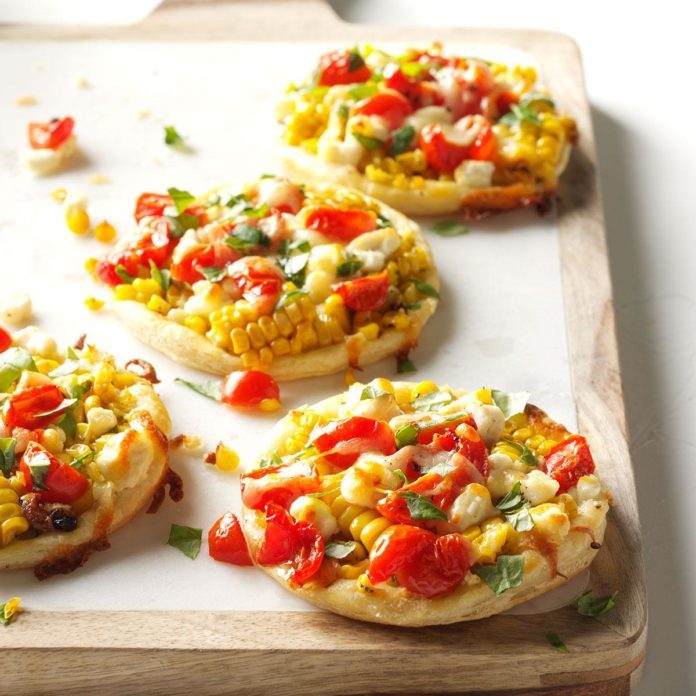 Tomato and Corn Cheesy Pastry Bites