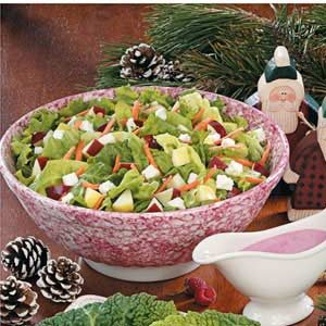 Fruit 'N' Feta Tossed Salad