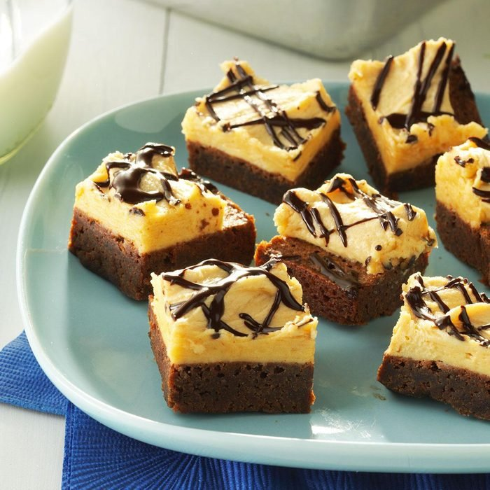 Chocolate Peanut Butter Brownies