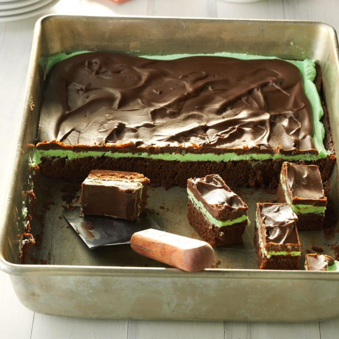 Maryland: Chocolate Mint Brownies