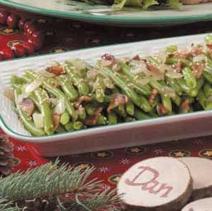 Bacon-Onion Green Beans