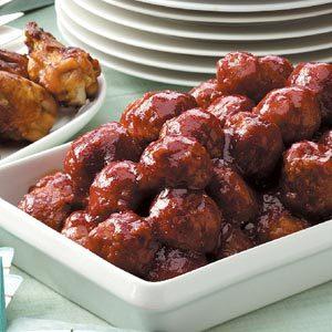 Glazed Meatballs