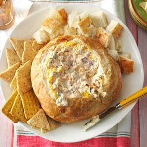 Warm Bacon Cheese Spread