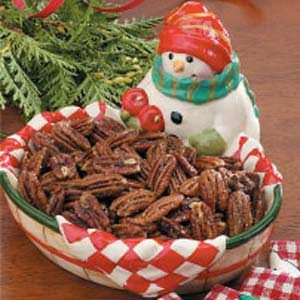 Southern Spiced Pecans