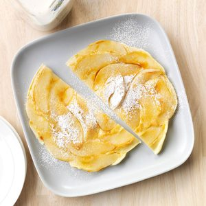 Upside-Down Pear Pancake