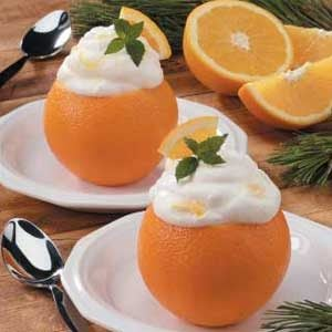 Orange Chantilly Cream