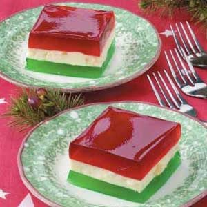 Holiday Ribbon Gelatin