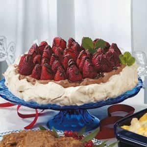 Strawberry Chocolate Meringue