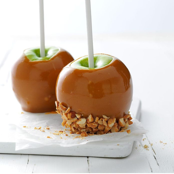 Honey Caramel Apples Recipe How To Make It Taste Of Home