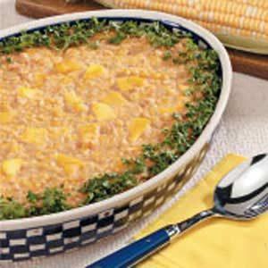 Mango Scalloped Corn