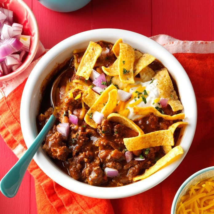 Upside-Down Frito Pie