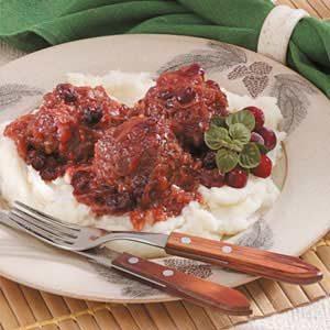 Cranberry Kraut Meatballs