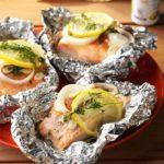 Lemon-Dill Salmon Packets