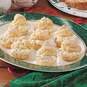 French Vanilla Cream Puffs