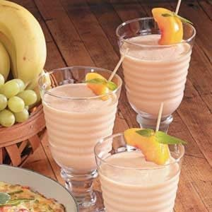 Orange Peach Smoothies