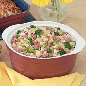 Ham 'n' Broccoli Hash