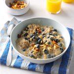 Spiced Blueberry Quinoa