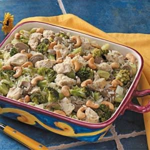 Cashew Chicken with Broccoli