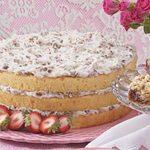 Coconut Cream Torte