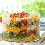Colorful Cornbread Salad