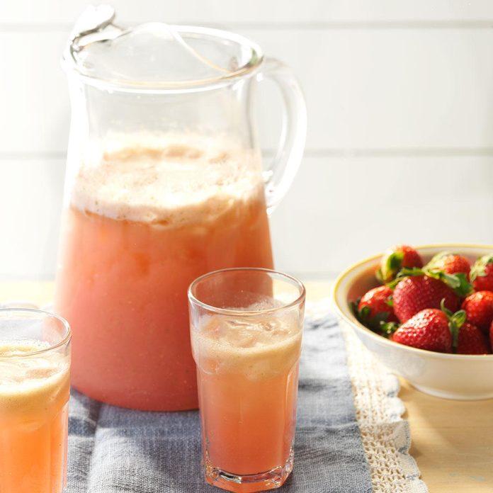 Strawberry-Basil Refresher
