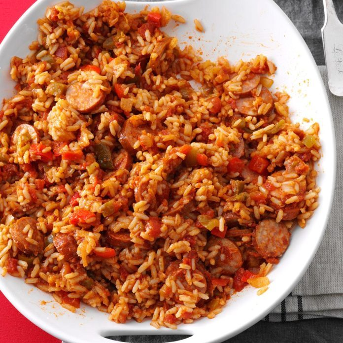 Day 31: Sausage Spanish Rice