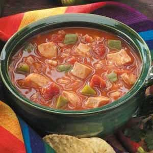 Barley Chicken Chili