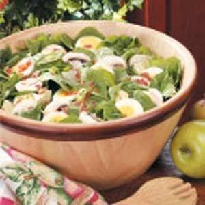 Artichoke Spinach Salad