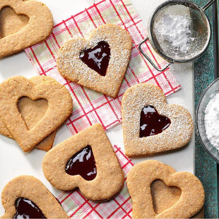 Linzer Heart Cookies