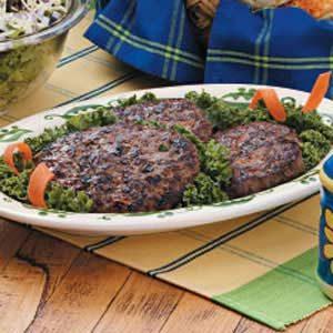 Veggie Beef Patties