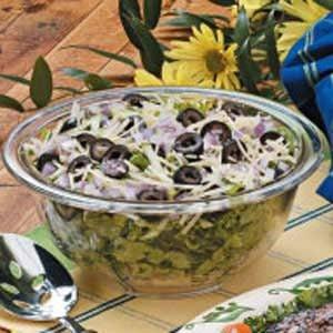 Zucchini Lettuce Salad