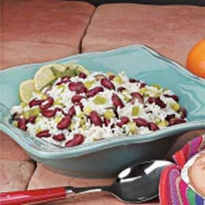 Southwestern Bean and Rice Salad