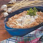 Makeover Four-Cheese Chicken Fettuccine